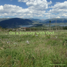 On a journey with God...