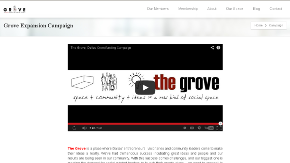The Grove Expansion Campaign