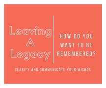 Leaving A Legacy 1